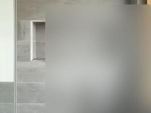 Dusche mit satiniertem Glas
