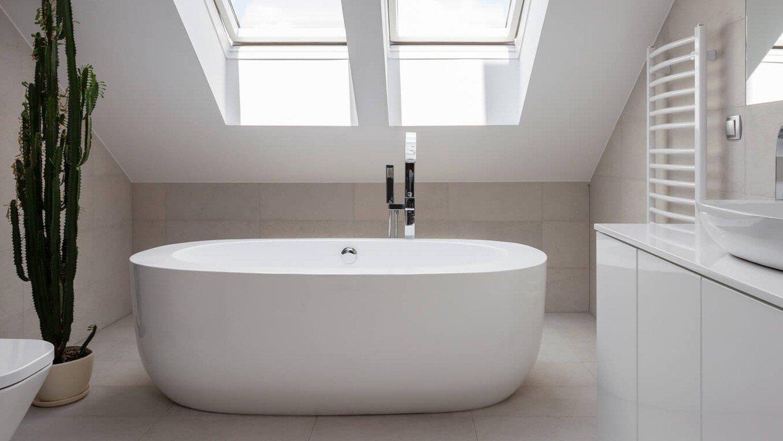 Die ideale Dusche bei Dachschrägen
