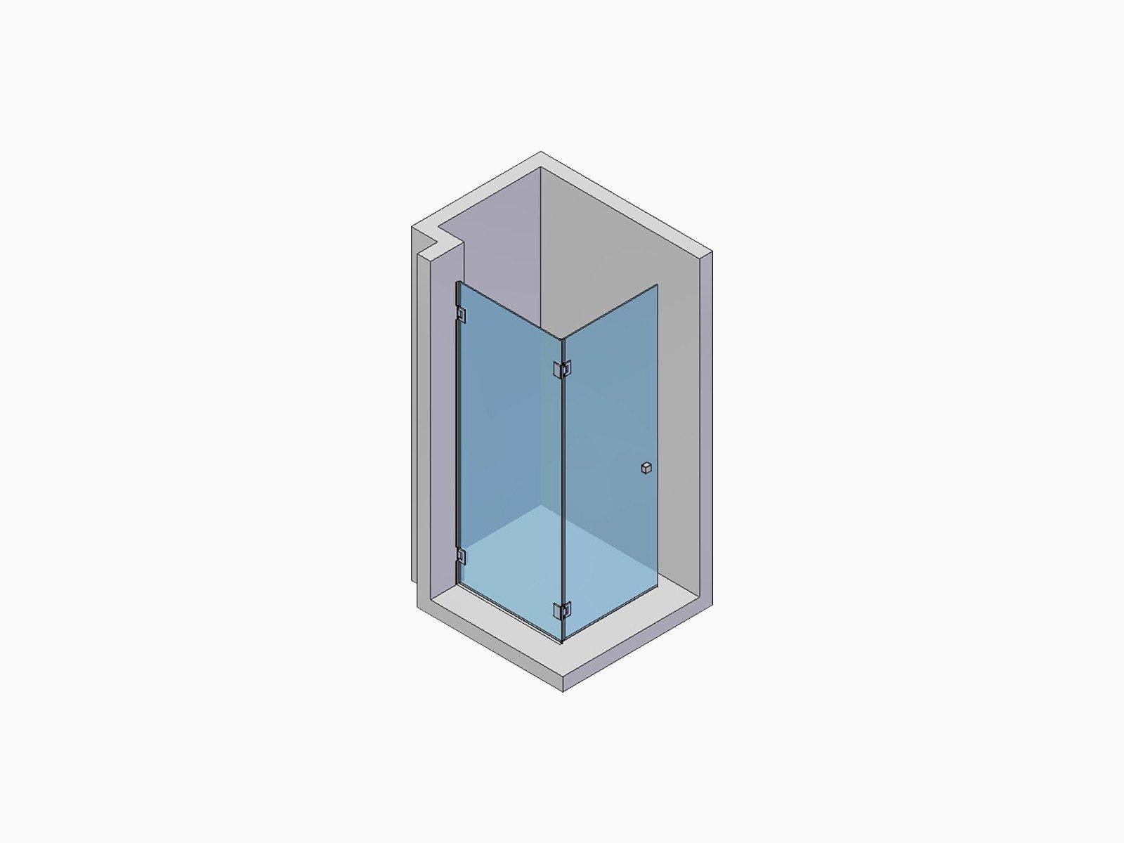 einbausituation-einer-eckdusche-mit-zwei-faltbaren-elementen