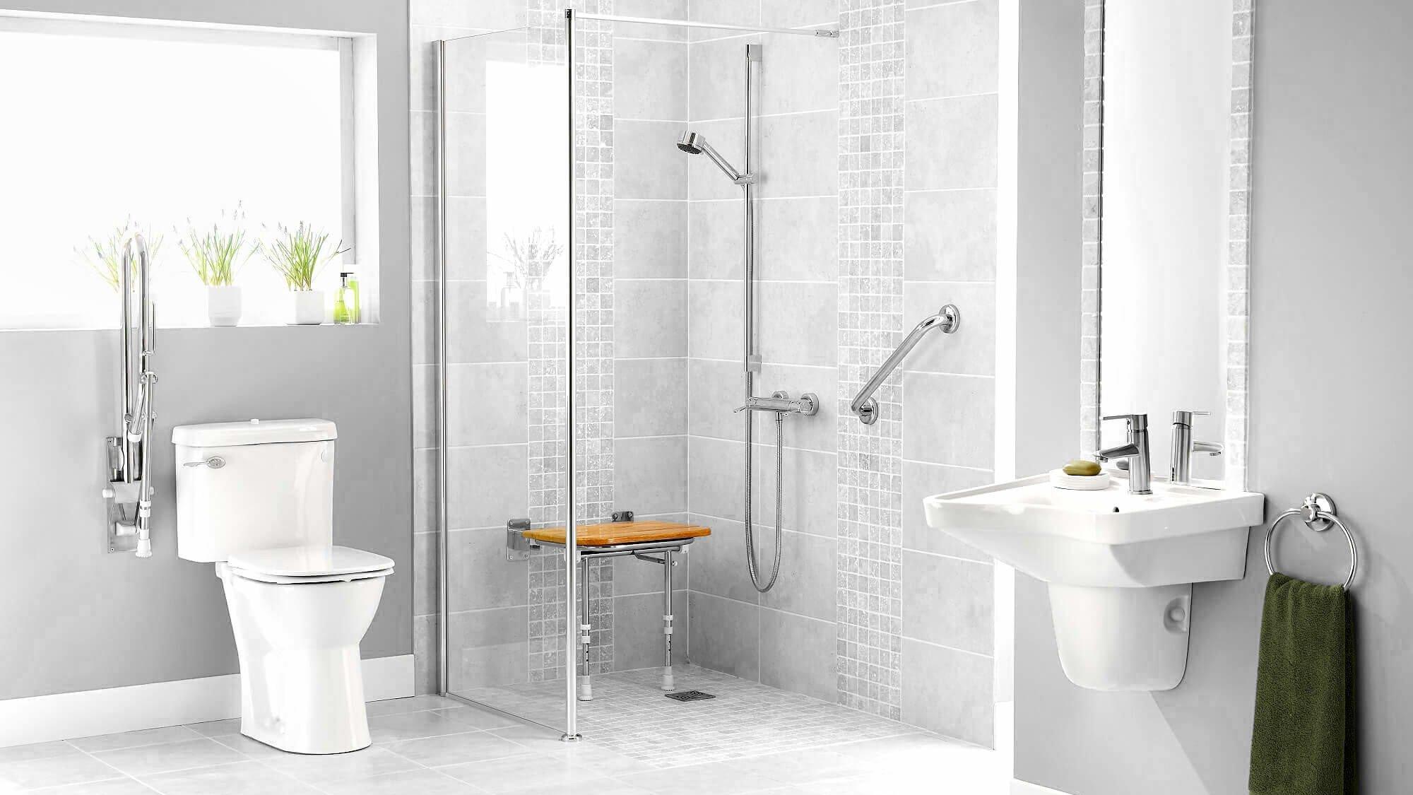 Eine barrierefreie Dusche altersgerecht und zukunftsorientiert planen