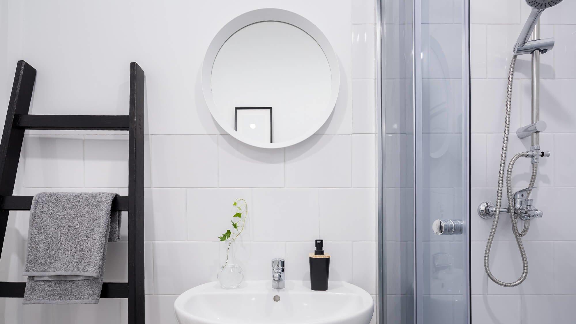 Selbst für ein kleines Bad ganz einfach eine Dusche planen