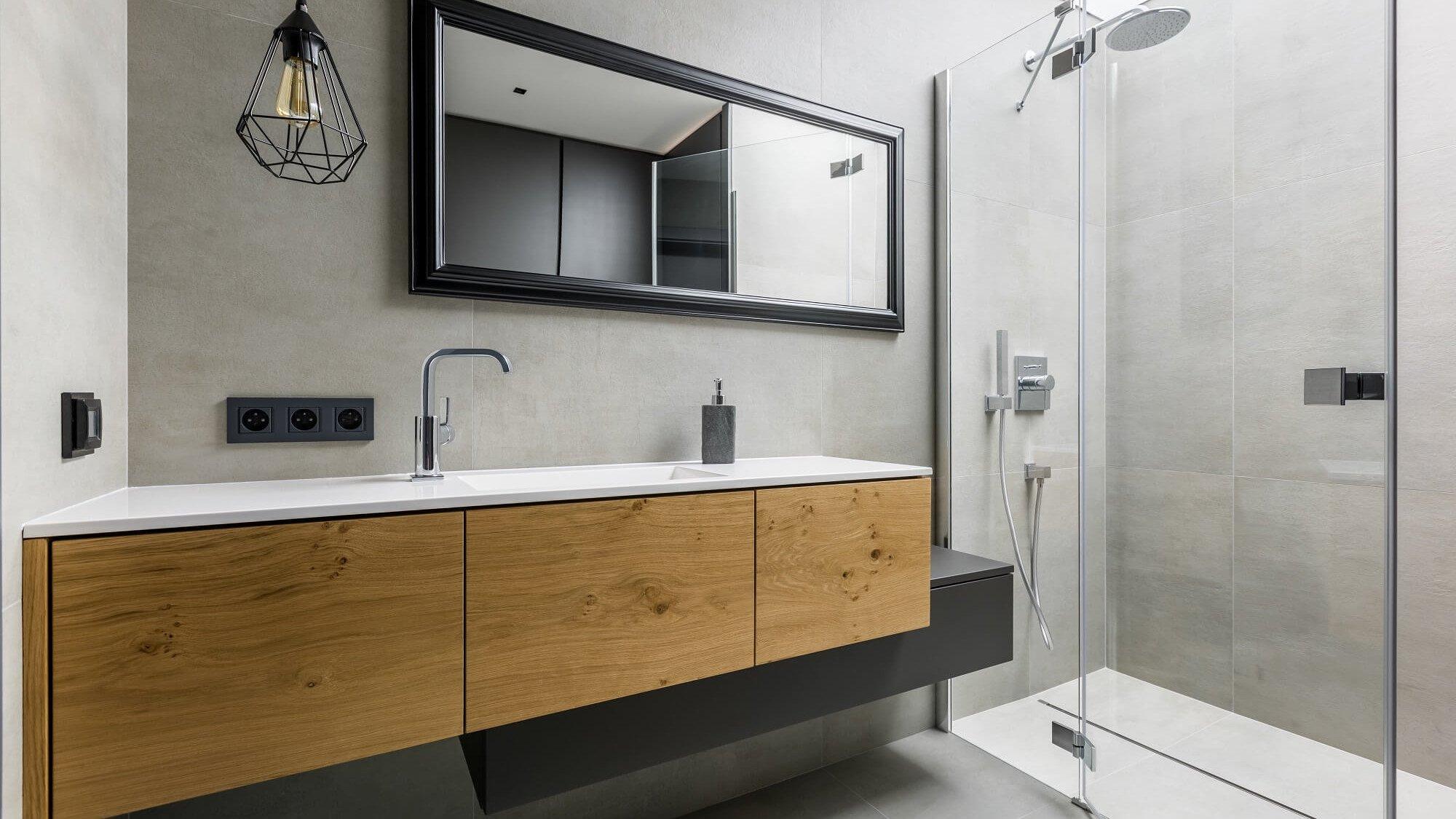Vier Ideen für die Installation einer Dusche