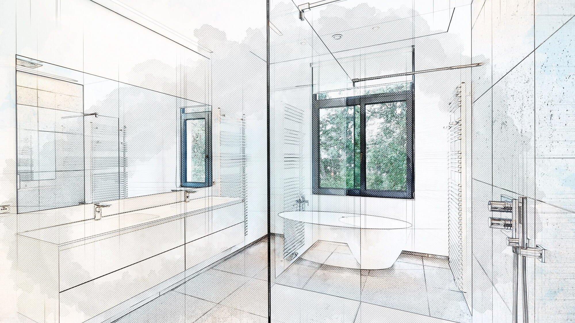Was wird für den Einbau einer Dusche alles benötigt?