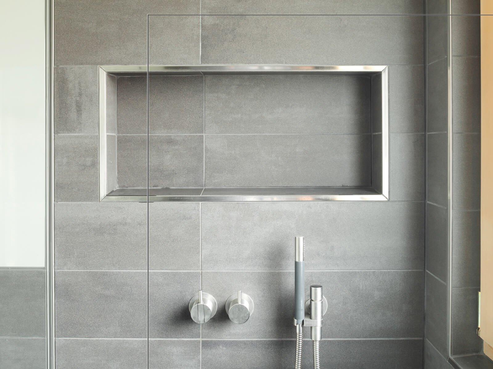Dusche mit 8 mm Klarglas