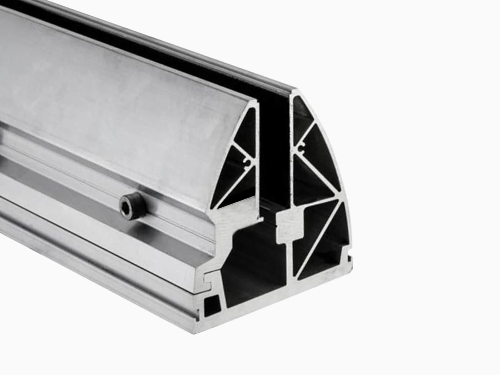 Klemmprofil aus Aluminium maximale Verarbeitung und Sicherheit aus deutscher Herstellung
