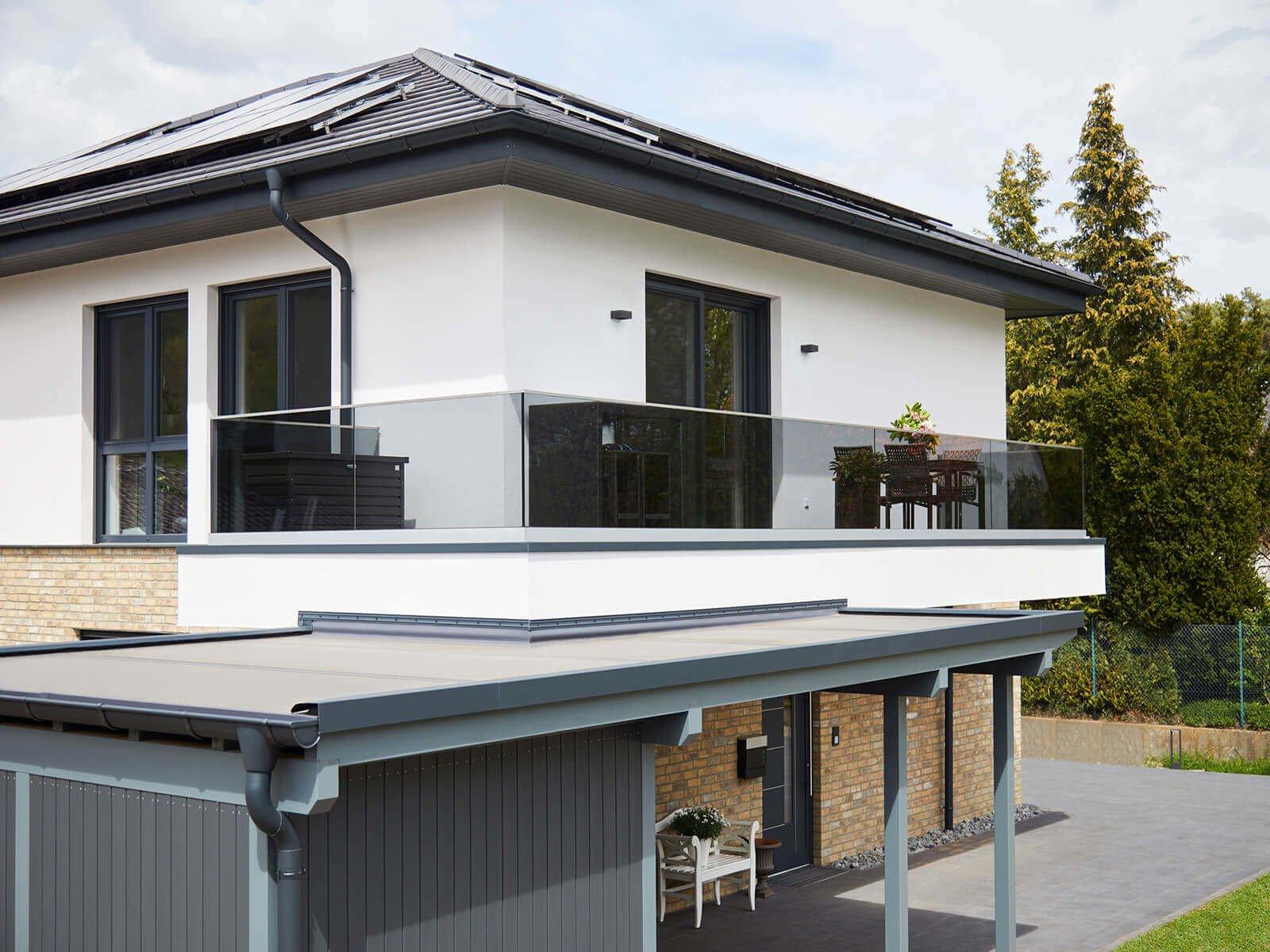 Glasrailing FORMAL hochwertige stilvolle elegante Lösung für Absturzsicherungen mit allgemeinen bauaufsichtlichem Prüfzeugnis