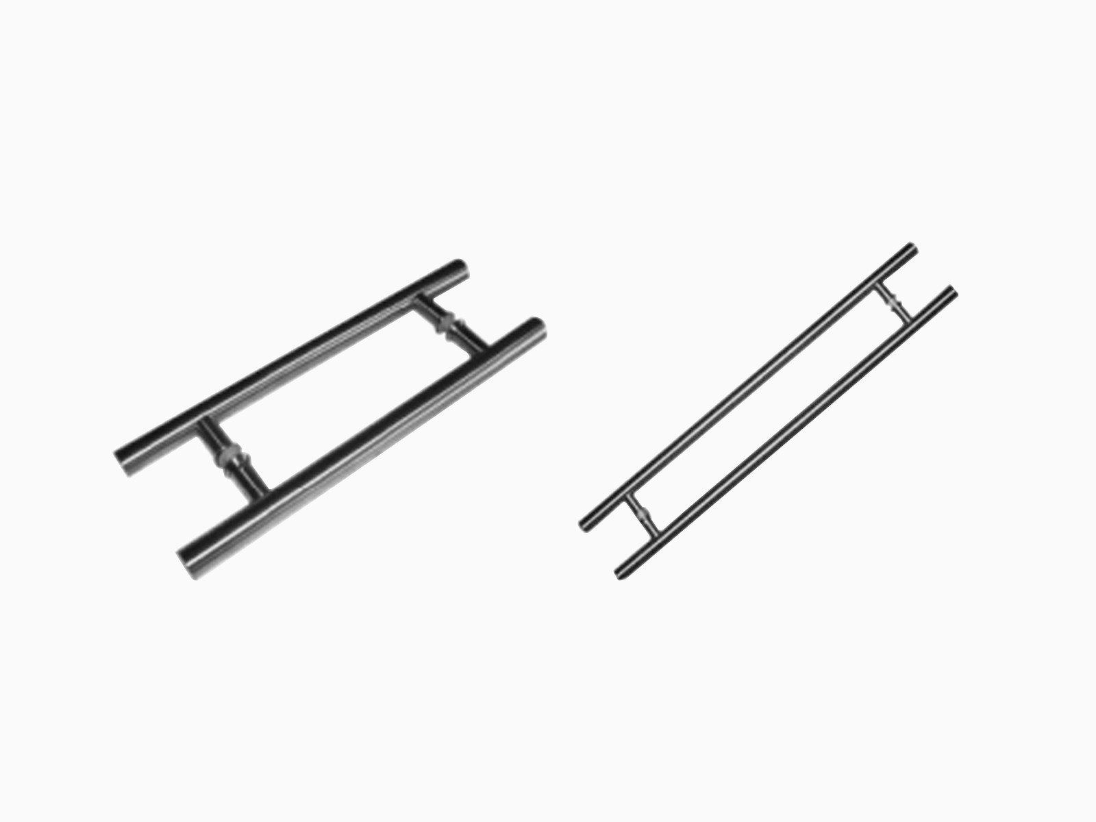 Runde Griffstange für Glasschiebetür in verschiedenen Längen