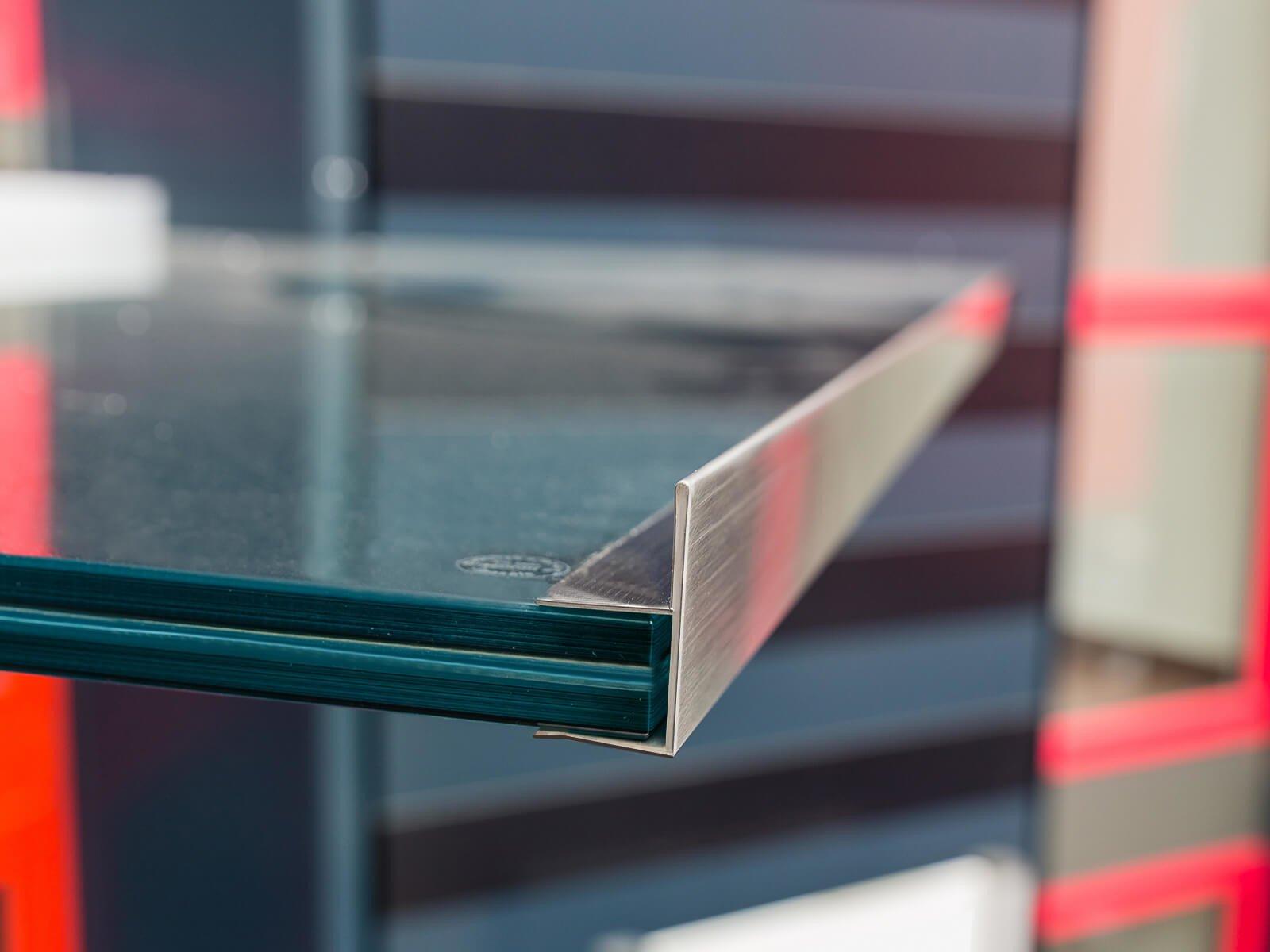 Haustürvordach Aluminium Regenrinne filigran neu