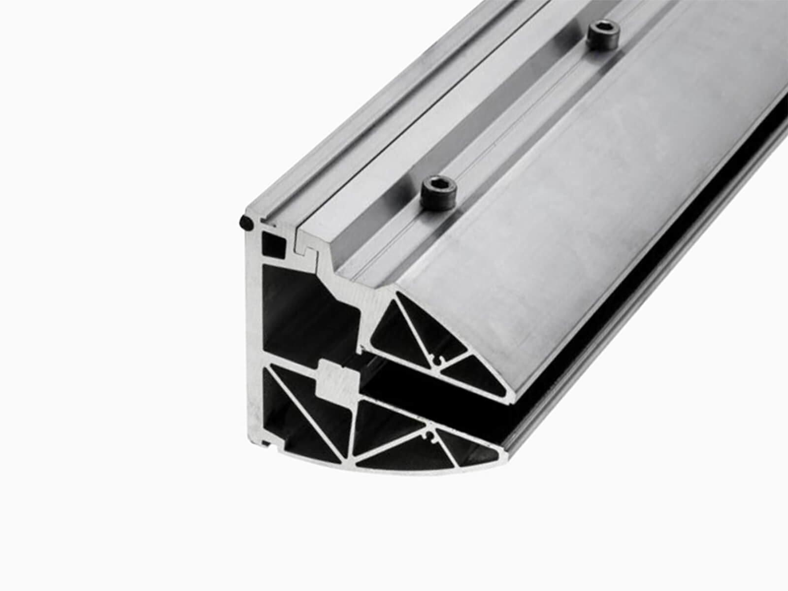 Glas Seitenteil Blend kompatibel mit fast jedem Vordach einfach in der Montage und Befestigung