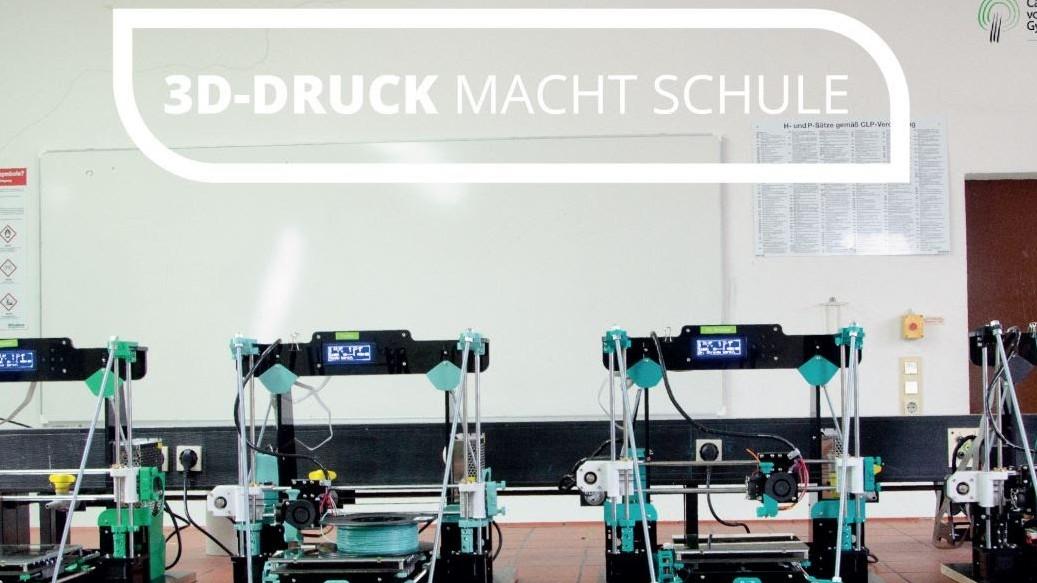 Glasprofi24 unterstützt 3D-Druck macht Schule