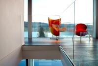 Schmale Glasbrüstung ANTE zur vorgesetzten Montage individuell nach Ihren Wünschen