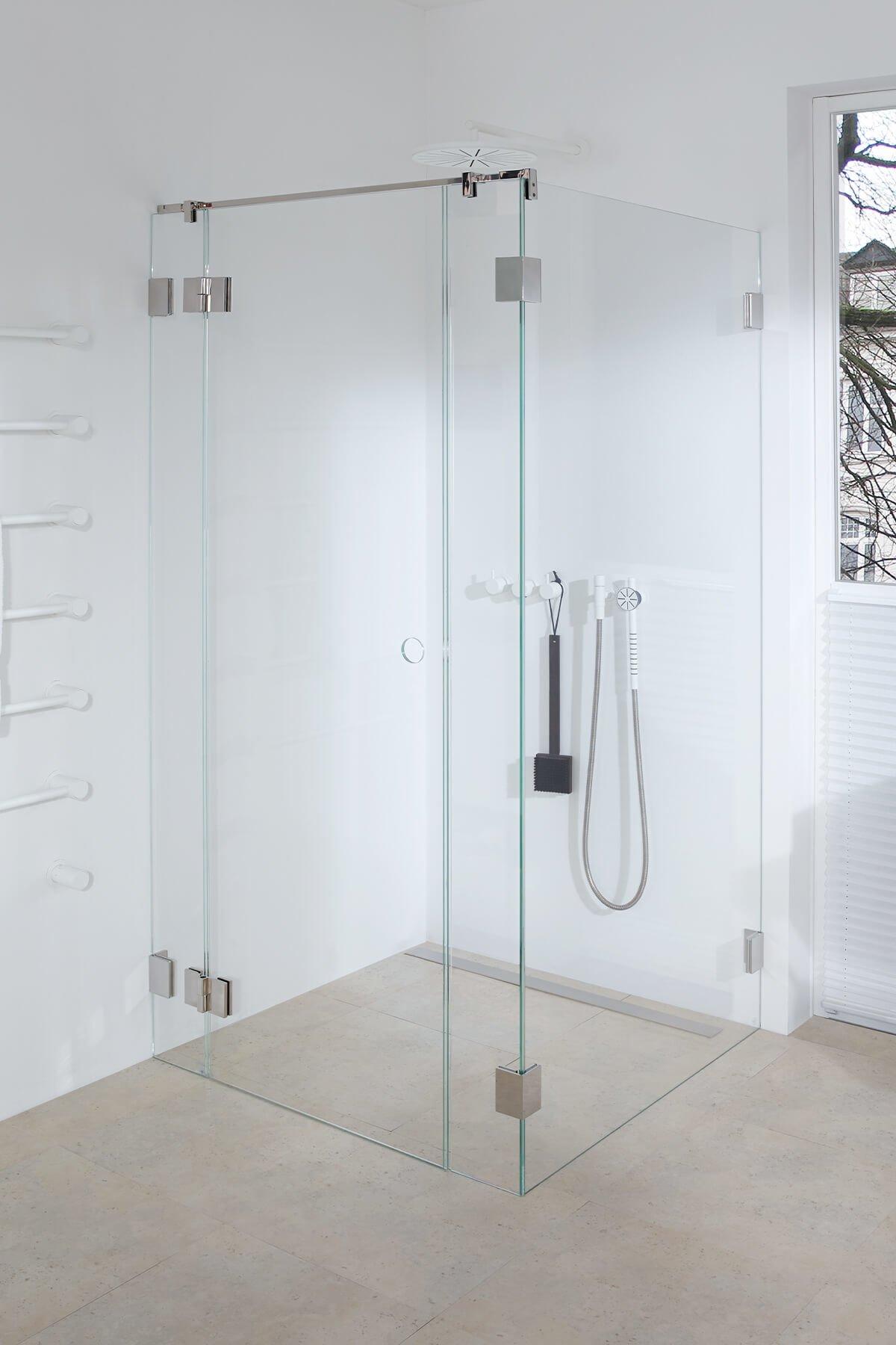 Transparent² – die erste Dusche ohne Dichtungen