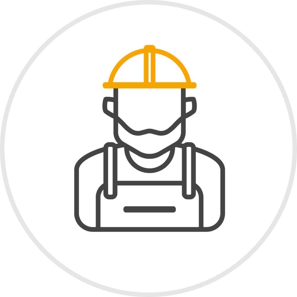 Icon Fachbetrieb für Montage beauftragen
