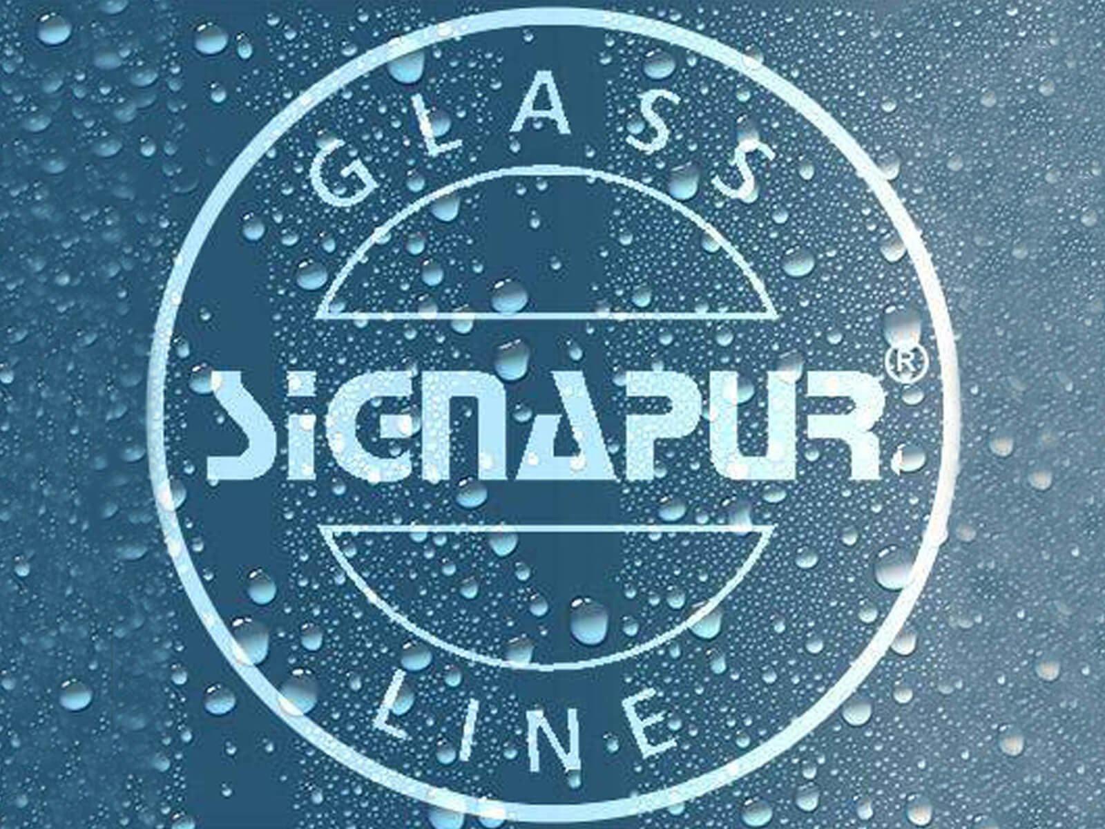 Glasversiegelung für Sichtschutz Bank