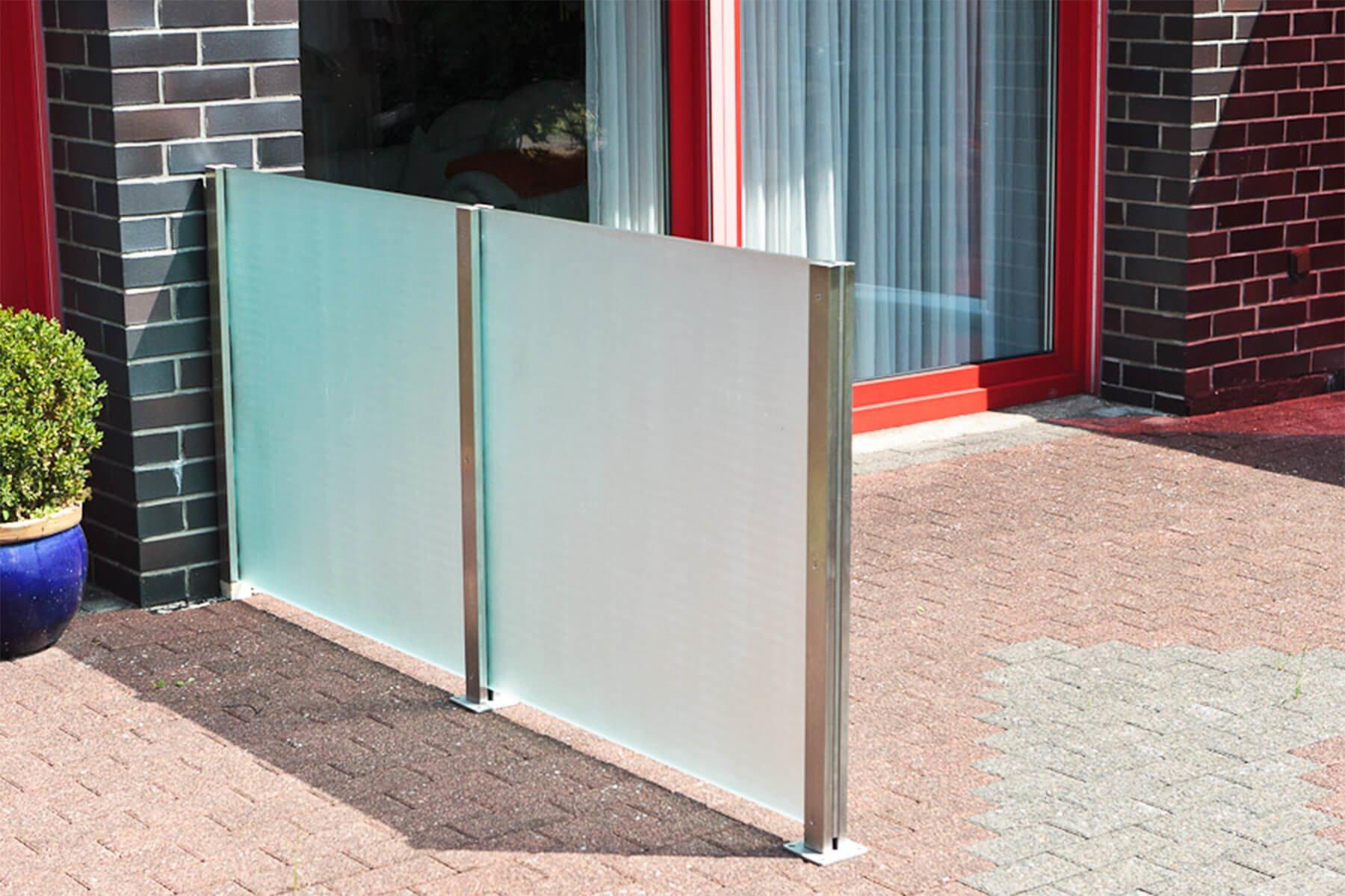 Wind- und Sichtschutz Densa sorg für Privatsphäre auf der Terasse Zuhause oder anderen Aussenbereichen