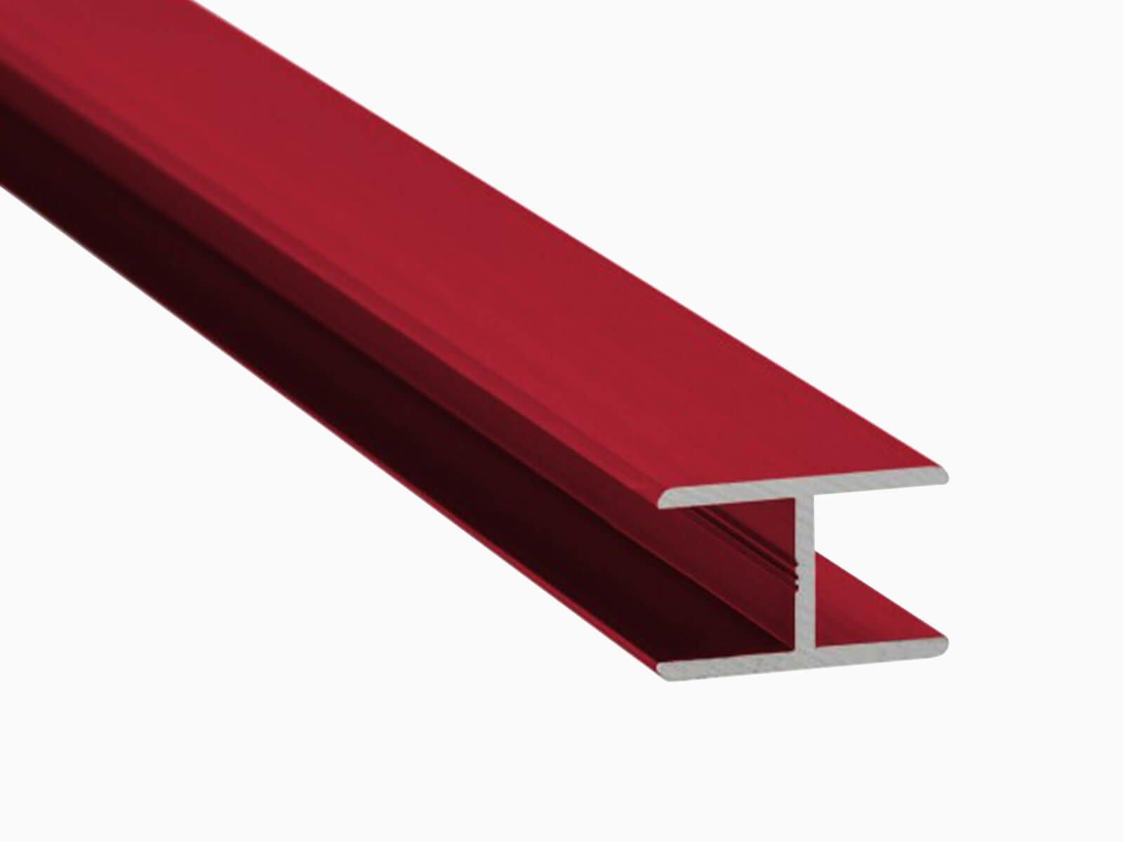 H-Profil für Glaszäune Schutz vor Delemanierung und Stoss individuelle Beschichtung
